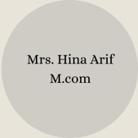 Mrs. Nosheen Ayub B.Sc – B.Ed(3)
