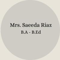 Mrs. Nosheen Ayub B.Sc – B.Ed(12)