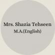 Mrs. Nosheen Ayub B.Sc – B.Ed(16)