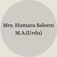 Mrs. Nosheen Ayub B.Sc – B.Ed(20)