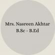 Mrs. Nosheen Ayub B.Sc – B.Ed(25)