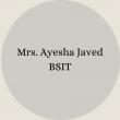 Ayesha Javed