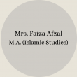 Faiza Afzal