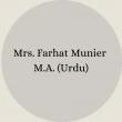 Mrs. Nosheen Ayub B.Sc – B.Ed(30)