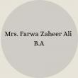 Farwa Zaheer Ali