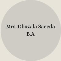 Ghazala Saeeda