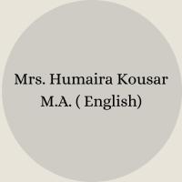 Mrs. Nosheen Ayub B.Sc – B.Ed(34)