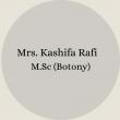 KASHIFA  RAFI