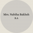 Nabiha Bakhsh