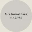 Nusrat Nazir