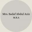 Mrs. Nosheen Ayub B.Sc – B.Ed(61)
