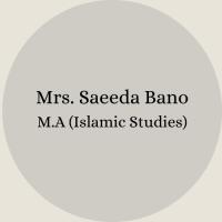 Mrs. Nosheen Ayub B.Sc – B.Ed(62)